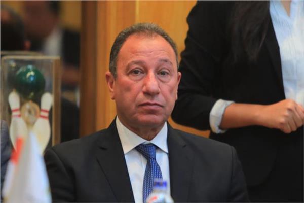 الكابتن محمود الخطيب رئيس النادي