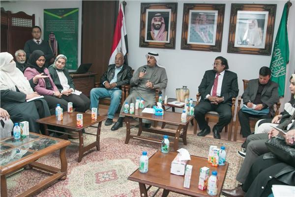 اجتماع بالملحقية الثقافية السعودية بمصر لمجلس أولياء أمور الطلاب ذوي الهمم