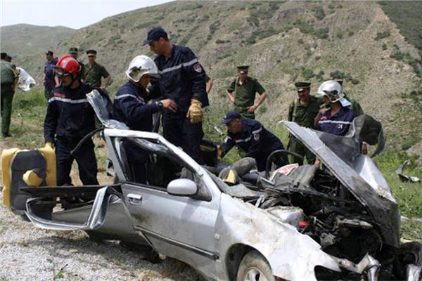 حوادث مرورية بالجزائر