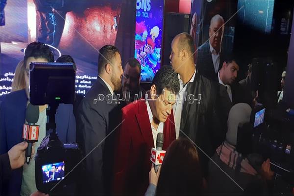 باسم سمرة خلال حضوره للعرض الخاص