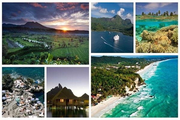 الجزر الرومانسية حول العالم