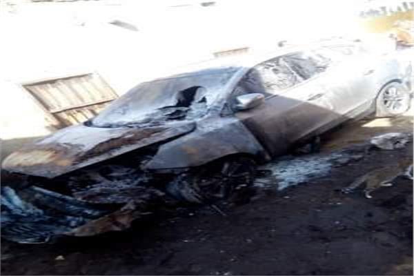 حبس صيدلي لاتهامه بحرق سيارتين بالمنوفية