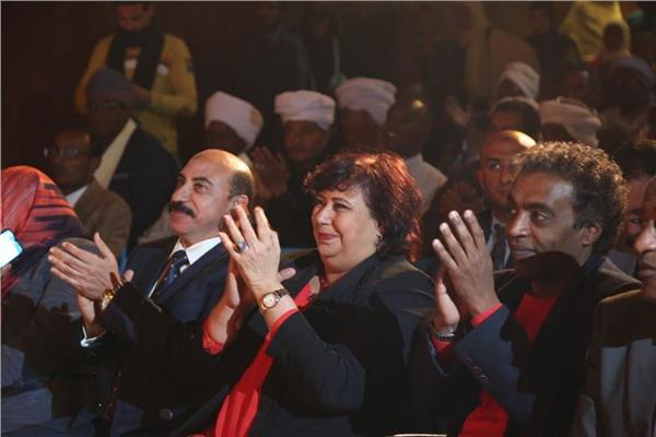 وزير الثقافة ومحافظ أسوان يفتتحان قصر ثقافة توشكي