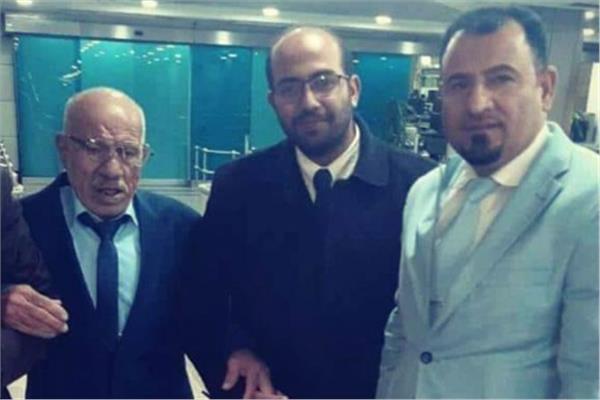 المصري العائد من العراق الحسانين عبد الحي شلبي