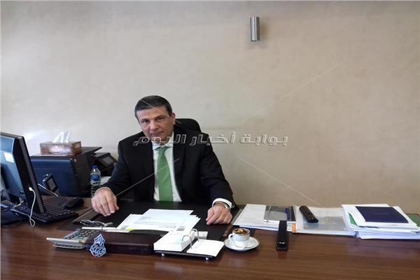 علاء فاروق رئيس البنك الزراعي المصري