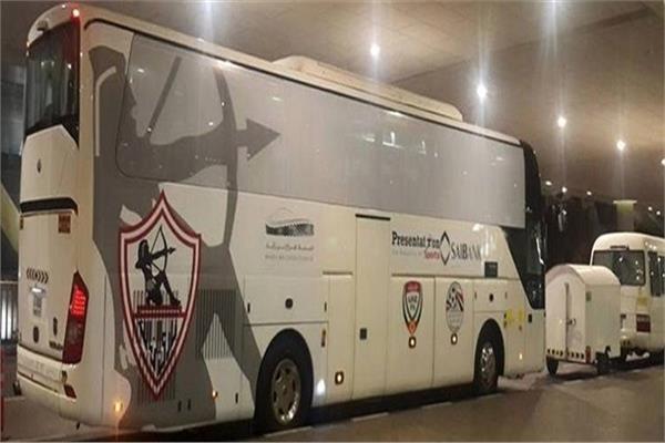 حافلة فريق الزمالك