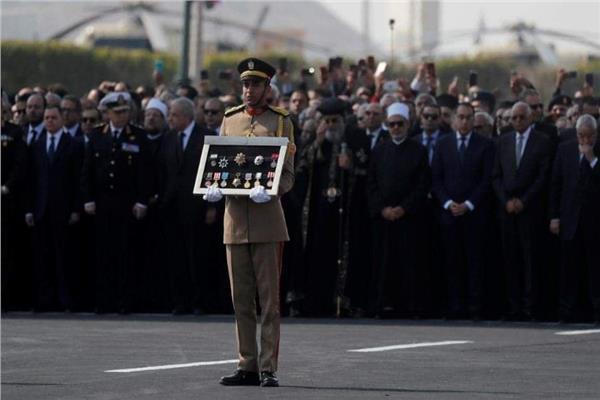 جنازة عسكرية للرئيس الأسبق محمد حسني مبارك