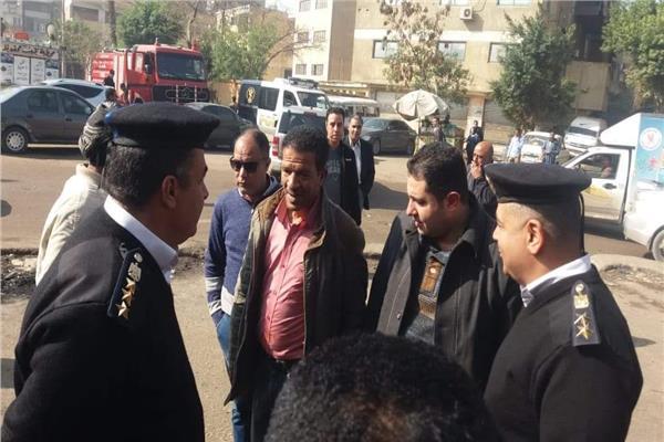نائب محافظ القاهرة يتابع إزالة حكر السكاكيني بالشرابية