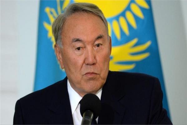 الرئيس الأول لكازاخستان وزعيم الأمة الكازاخية نورسلطان نزاربايف