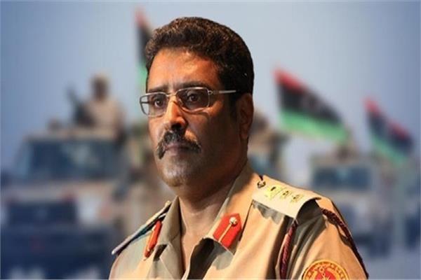 اللواء أحمد المسماري - صورة أرشيفية