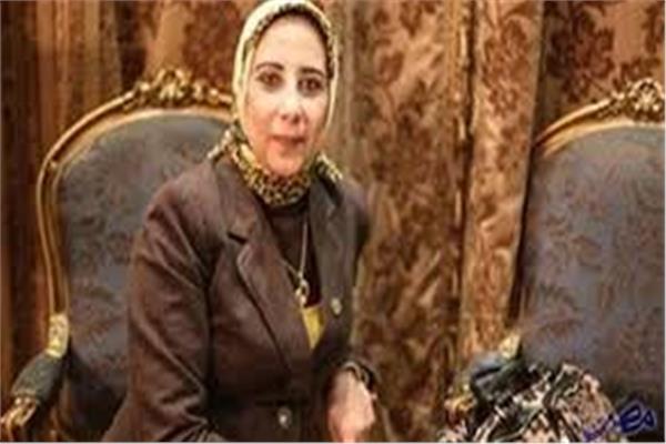 النائبة منى الشبراوي، عضو مجلس النواب