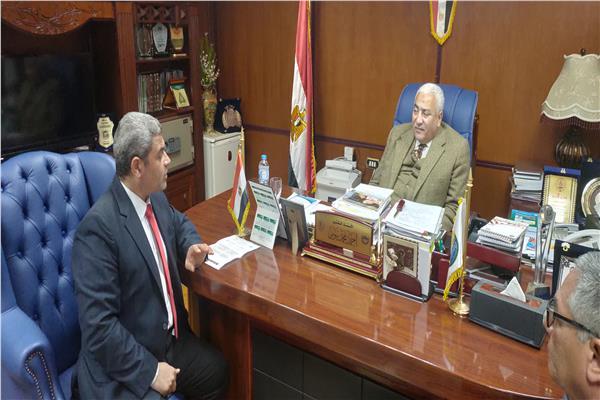 احمد بيومى رئيس جامعة مدينة السادات
