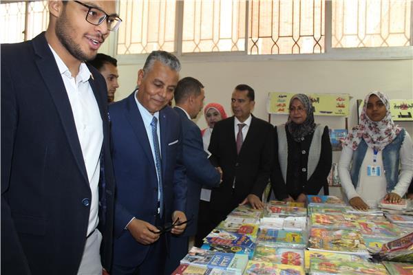 افتتاح فعاليات معرض جامعة جنوب الوادي للكتاب