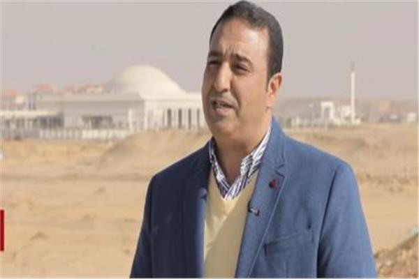 العميد خالد الحسيني - المتحدث باسم العاصمة الإدارية الجديدة