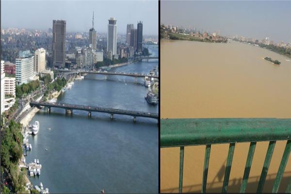 عودة مياه النيل إلي طبيعتها