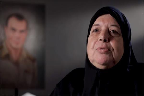 والدة الشهيد الرائد أحمد الشبراوي