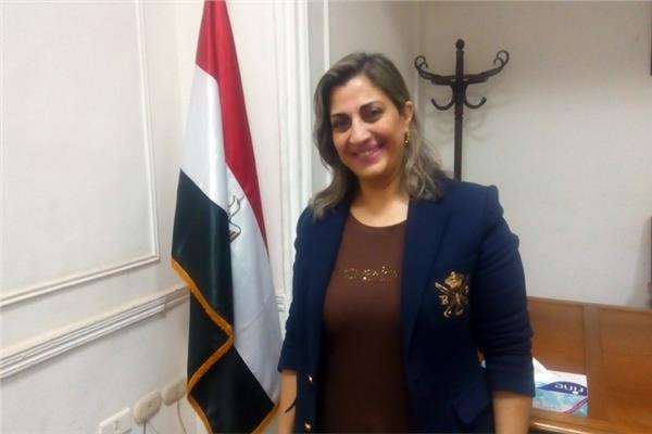 الدكتورة هبة يوسف رئيس قطاع العلاقات الثقافية الخارجية