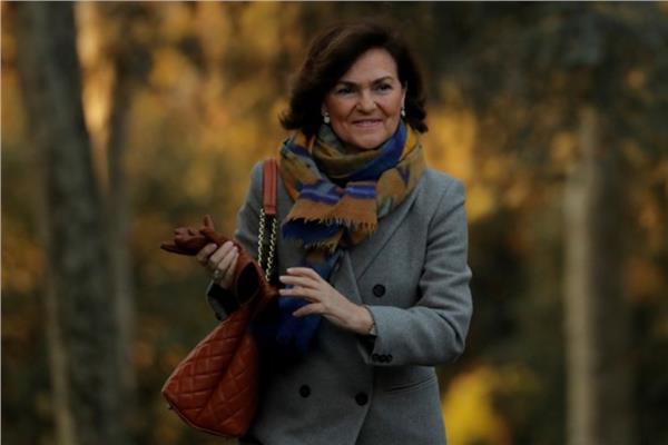 نائبة رئيس الوزراء الإسبانية كارمن كالفو