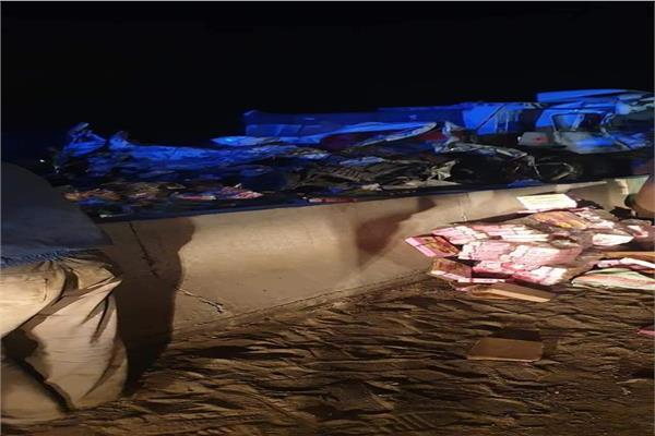 لقطات من الحادث