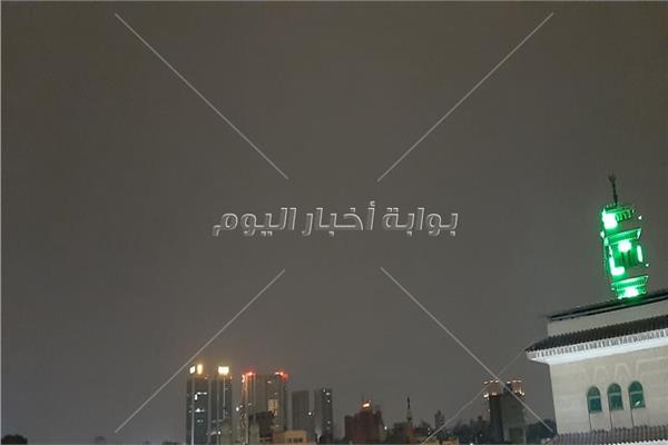 سقوط امطار على القاهرة والجيزة