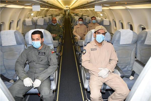 سلاح الجو السلطانى العُماني يستقدم مواد طبية من الصين لمواجهة «كورونا»