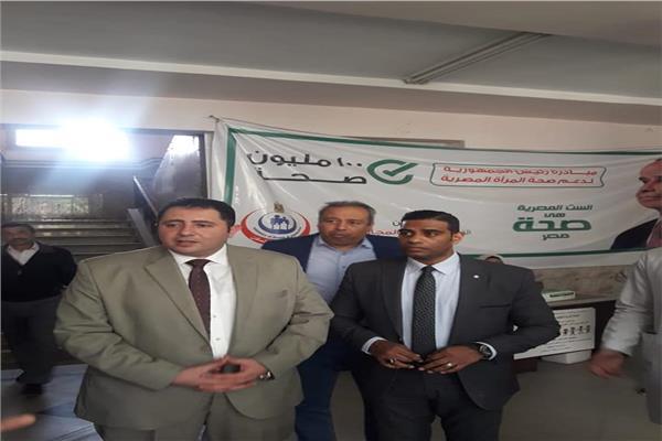 نائب محافظ القاهرة يتفقد المركز الطبي الحضري