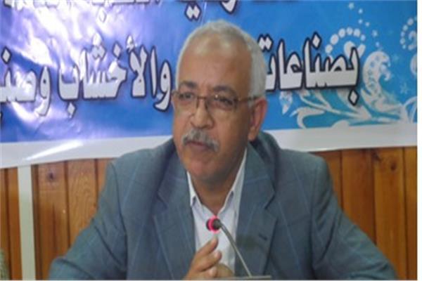 عبد المنعم الجمل، رئيس النقابة العامة للعاملين بالبناء والأخشاب