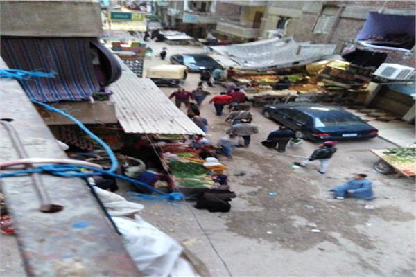 سوق في شارع عشرة المتفرع من شارع الأربعين