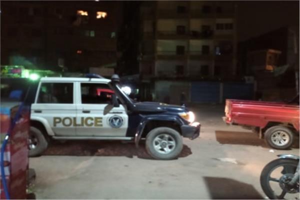 قوات الأمن تسيطر علي شوارع بولاق الدكرور