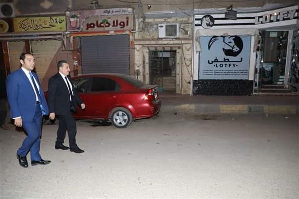 محافظ المنوفية يتفقد شوارع شبين الكوم