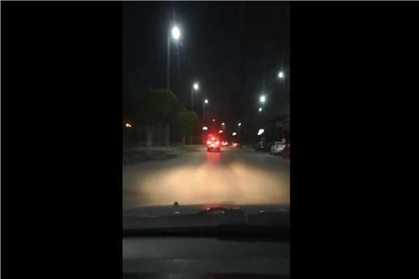 لقطة من البث المباشر
