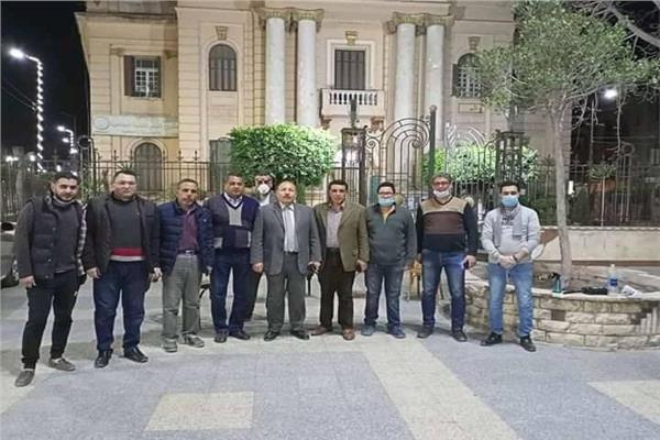 تشكيل لجنة اغاثة من شباب كفر الزيات