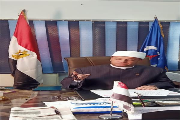 الشيخ ماجد راضي وكيل وزارة الأوقاف بالسويس