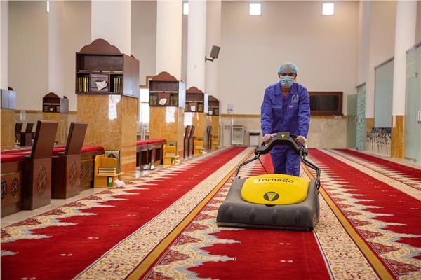 تعقيم المساجد في السعودية