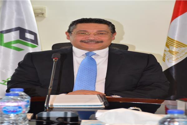 حسن غانم رئيس مجلس الإدارة و العضو المنتدب لبنك التعمير والإسكان