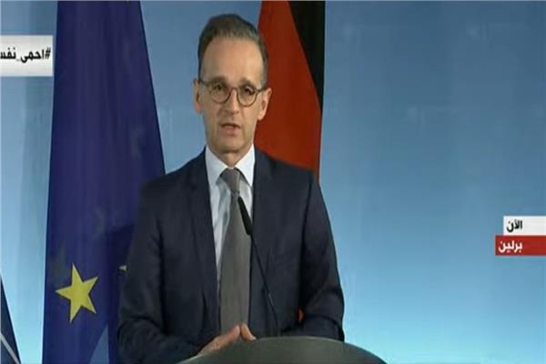 مؤتمر لوزير الخارجية الألماني بشان مكافحة فيروس كورونا