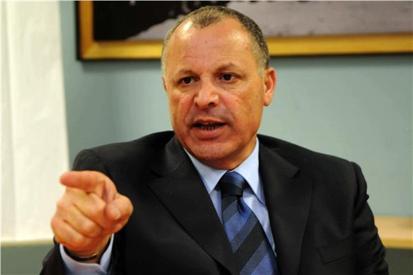 المهندس هاني أبو ريدة عضو المكتب التنفيذي بالاتحادين الدولي والإفريقي لكرة القدم