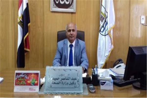 الدكتور عبدالناصر حميدة وكيل وزارة الصحة بالغربية