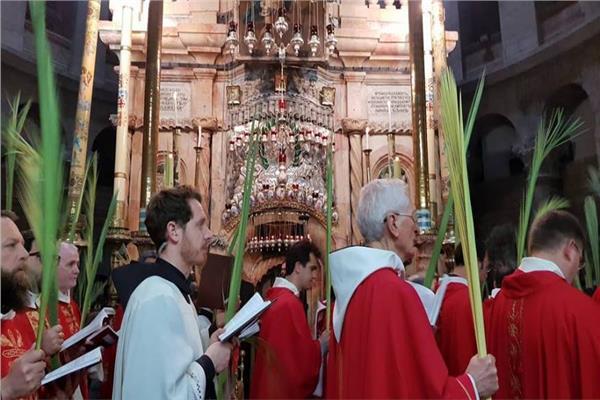 بسبب «كورونا».. احتفالات «أحد الشعانين» في كنائس القدس وبيت لحم «دون مصلين»