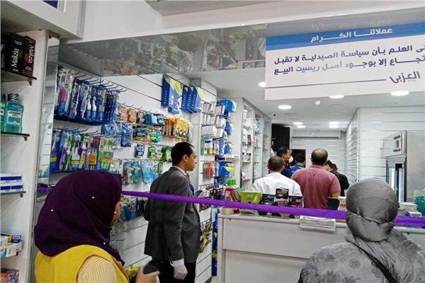 ضبط 8 آلاف و317 قطعة بدون فواتير وأدوية غير مسجلة في صيدليات قنا