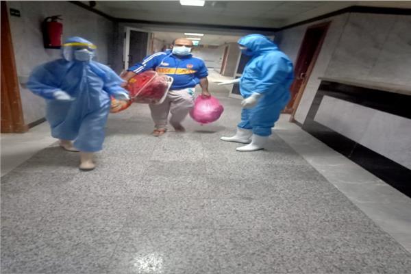 تعافي ٧ مرضي بمستشفى تمي الأمديد وغادروا لمنازلهم