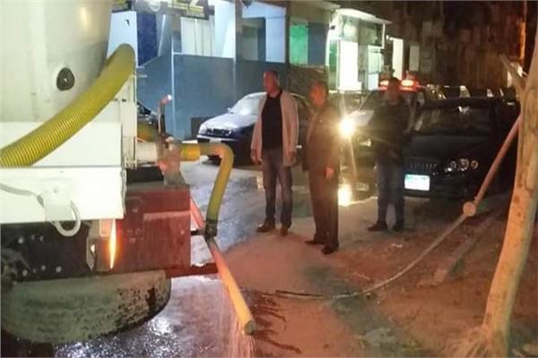 استمرار أعمال رش وتطهير شوارع واحياء الاسماعيلية