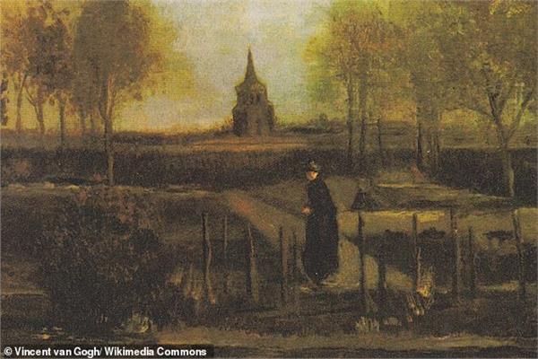 لوحة الفنان الشهير فينسنت فان جوج
