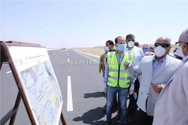 ثورة البناء| تطوير طريق نفق «الشهيد أحمد حمدي» نقلة نحو التنمية