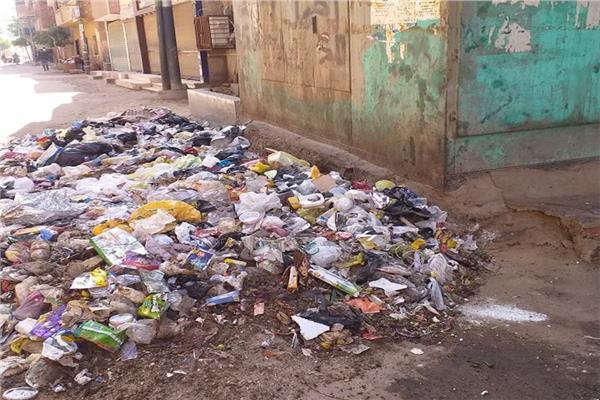 كارثة القمامة تهدد سكان طوخ