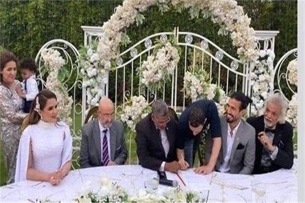 عقد قران شيما صابر ورامي صبري