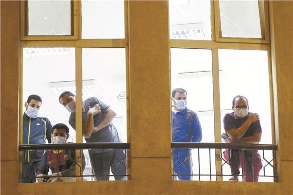 المصابون بكورونا فى مستشفى أهل مصر