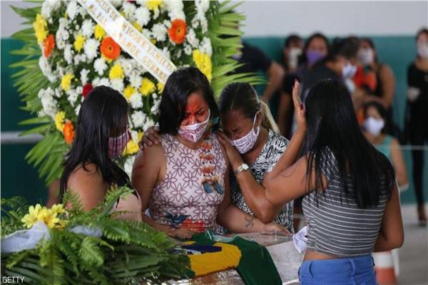 ارتفاع حالات الوفاة بفيروس كورونا في البرازيل