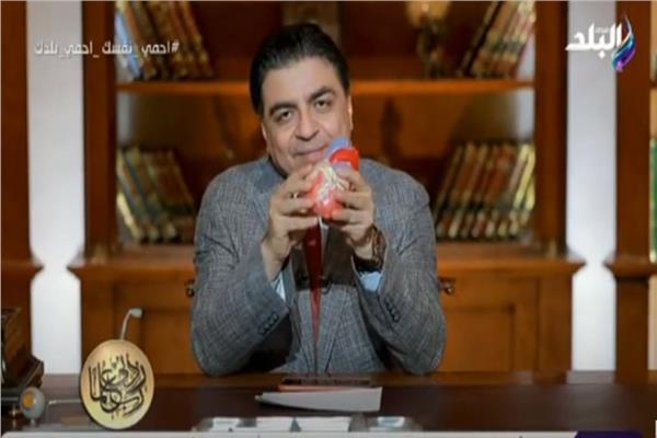 الدكتور جمال شعبان مدير معهد القلب الساب