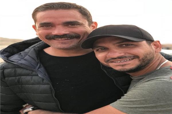 المخرج بيتر ميمي مع أمير كراره